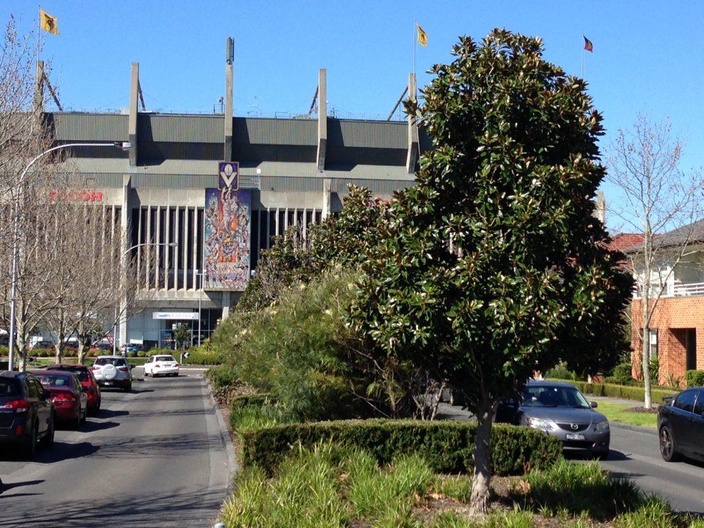 Waverley Park established tree planting - 4