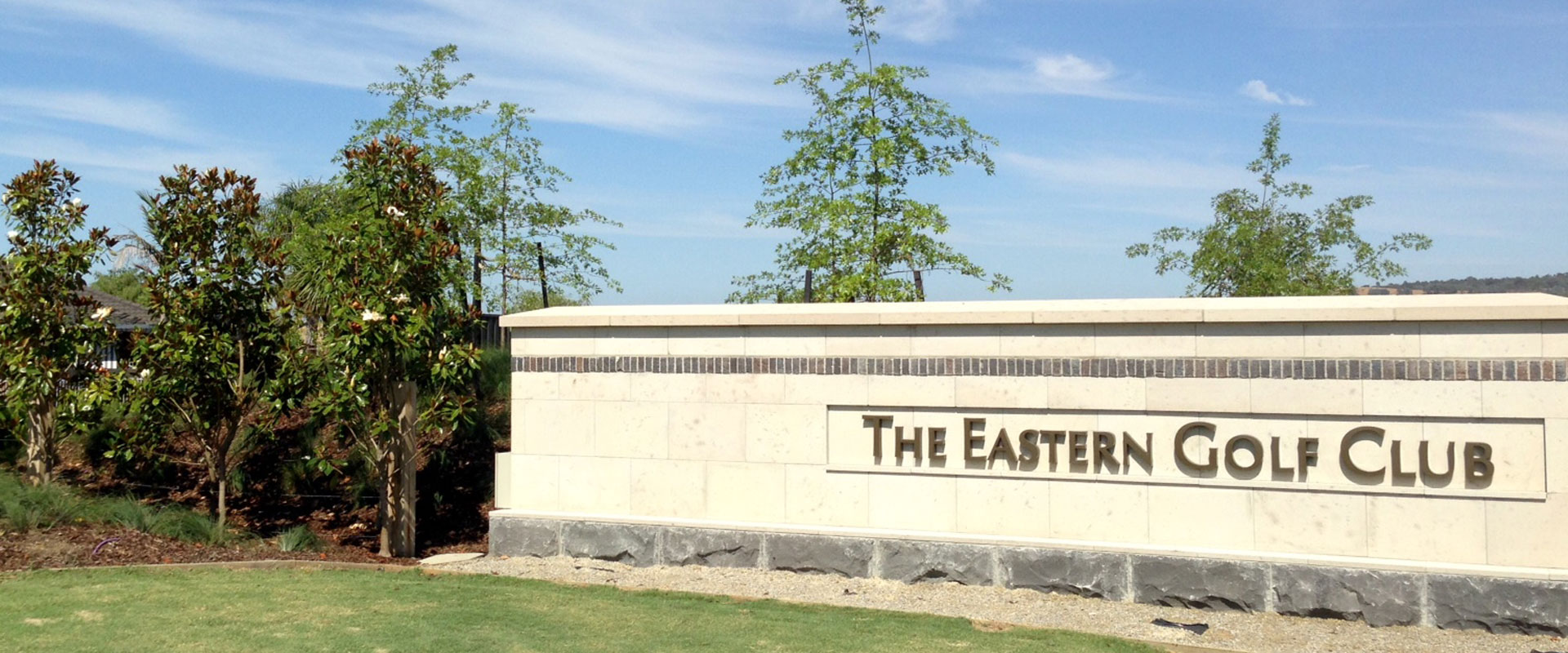 eastern golf course established tree planting